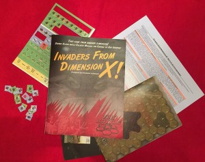 Invaders from Dimension X Components