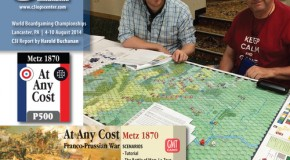 At Any Cost: Metz 1870 (GMT Games) Playtest