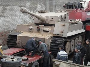 Tiger Tank Replica 2