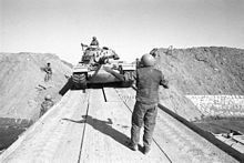 bar-lev-israeli-tank-crossing-the-suez-canal.