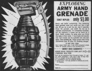 grenade ad