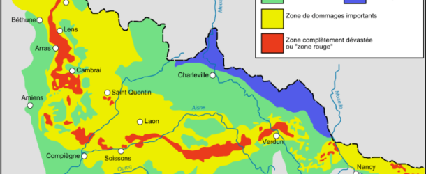 Brilliant Maps: Zone Rouge: An Area of France So Badly Damaged By WW1 That People Are Still Forbidden To Live There
