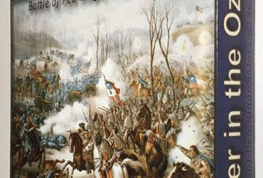 "Revolution Games: ""Thunder in the Ozarks – The Battle of Pea Ridge"" box prototype"