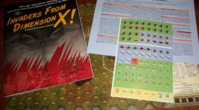 "Video Review by Geek Gamers of ""Invaders from Dimension X!"""