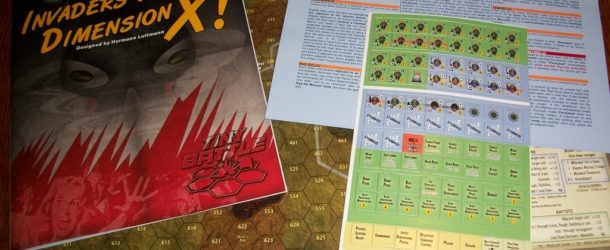 """Video Review by Geek Gamers of """"Invaders from Dimension X!"""""""
