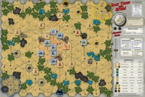 Space Vermin Map and counters 1