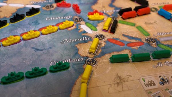The Guardian: The boarder's hoard: your new monthly board game column