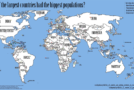 Mental Floss: The World's Countries Swapped According to Their Population