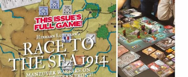Hexsides and Hand Grenades: Yaah! #8 (Race to the Sea -1914) Review
