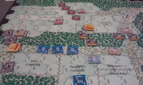 Thunder in the Ozark Union Left Flank