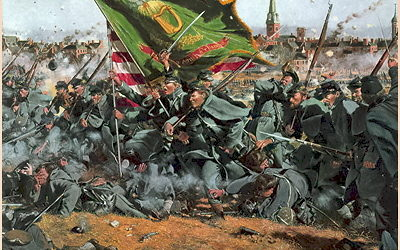 The Irish Brigade at Gettysburg video