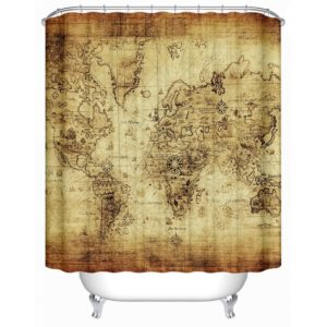 More Shower Curtain Maps as Alternative to Game Mats