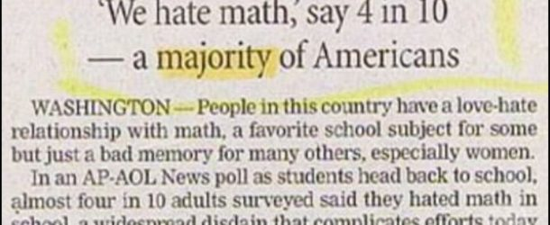 Everyone Hates Math