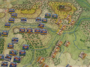 "Revolution Games' ""Longstreet Attacks: The Second Day at Gettysburg"" in playtesting"