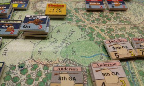 Longstreet Attacks playtest