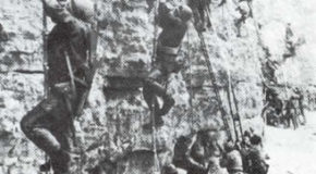"""The Longest Day"" video clip of The Rangers at Pointe du Hoc"