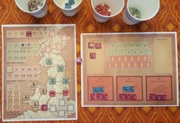 """A sample set up (units are drawn randomly so this will vary game to game)"" - chansen2794 - BGG"