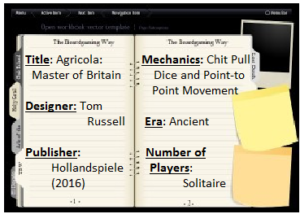 """Hollandspiele: """"Agricola – Master of Britain"""" – Reflection and Review"""