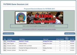 Scheduling Games at FaTDoG 2017, Axis & Allies Tournament
