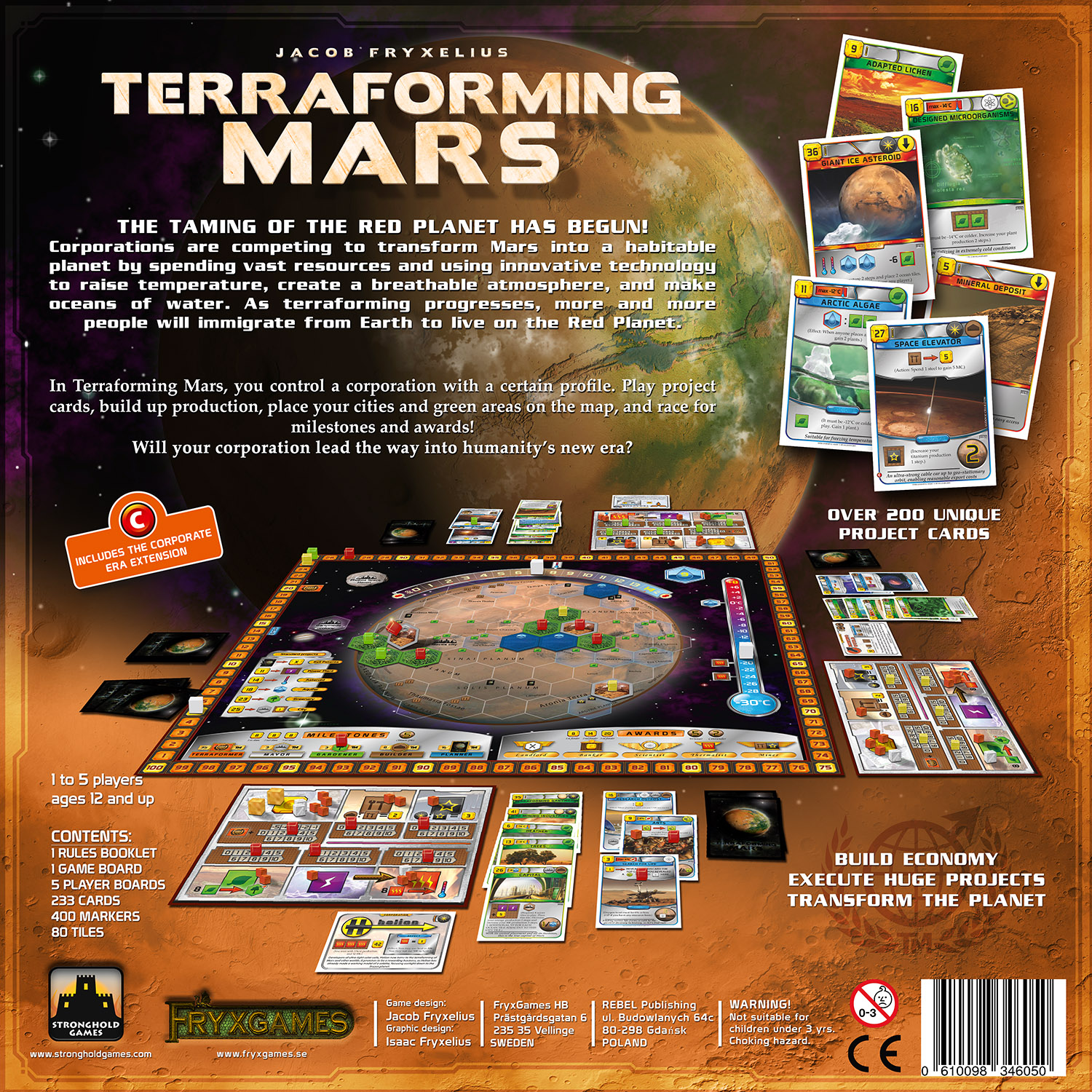 The Boardgaming Way Every Game is Awesome 36: Terraforming