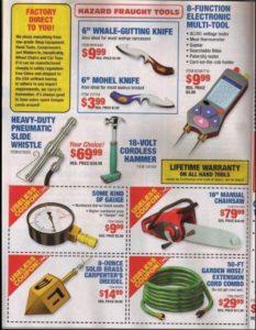 Cheap Hazard Fraught Tools