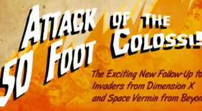 """Tiny Battle Publishing: """"Attack of the 50 foot Colossi!"""" unbagging video"""