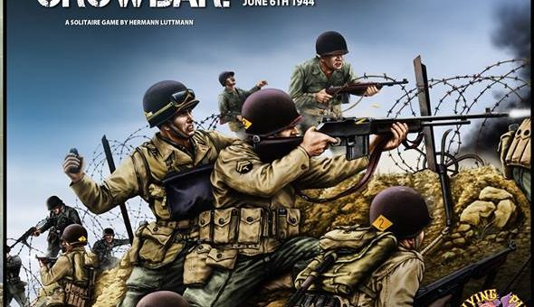 The Players' Aid: Video Review: Crowbar! The Rangers at Pointe Du Hoc from Flying Pig Games