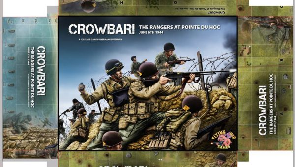 Stuka Joe: Crowbar! The Rangers at Pointe Du Hoc Mechanics @ Play