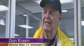 World War Eleven Veteran interviewed !