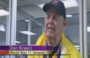 World War Eleven Veteran interviewed !