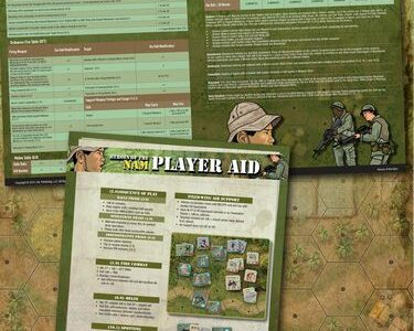 Heroes of Nam Player Aid Cards