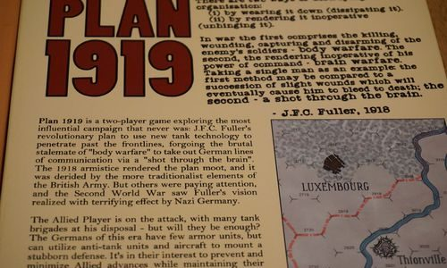 Plan 1919 back cover