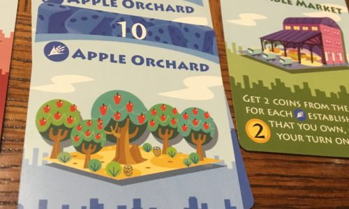 Machi Koro - Apple Orchard