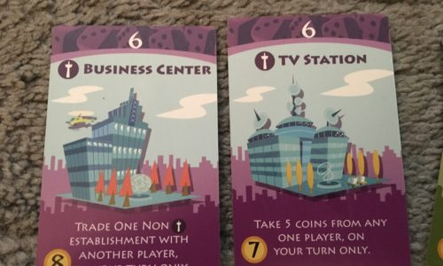 Machi Koro - Business Center and TV station