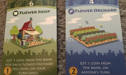 Machi Koro - Flower Shop and Flower Orchard