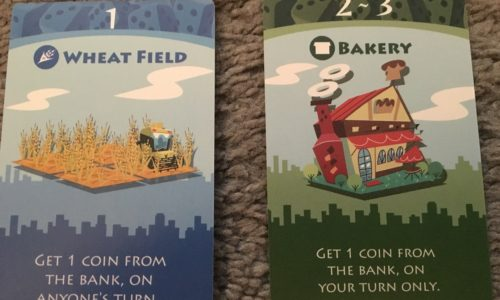 Machi Koro - Wheat Field aaand Bakery