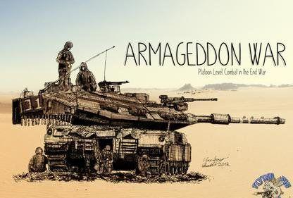Armageddon War– a Boardgaming Way Review