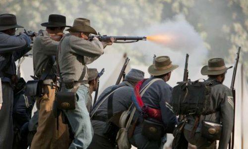 Gettysburg re-enactors