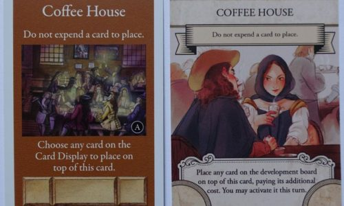 First edition card vs Second edition card