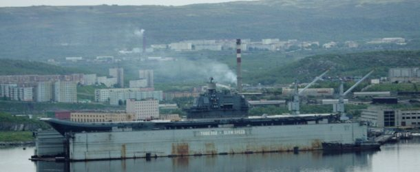 Business Insider: A devastating shipyard accident appears to have sunk Russia's efforts to save its sole aircraft carrier