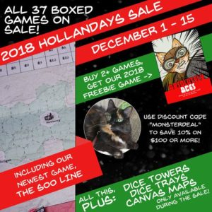 Hollandspiele Holiday Sale –