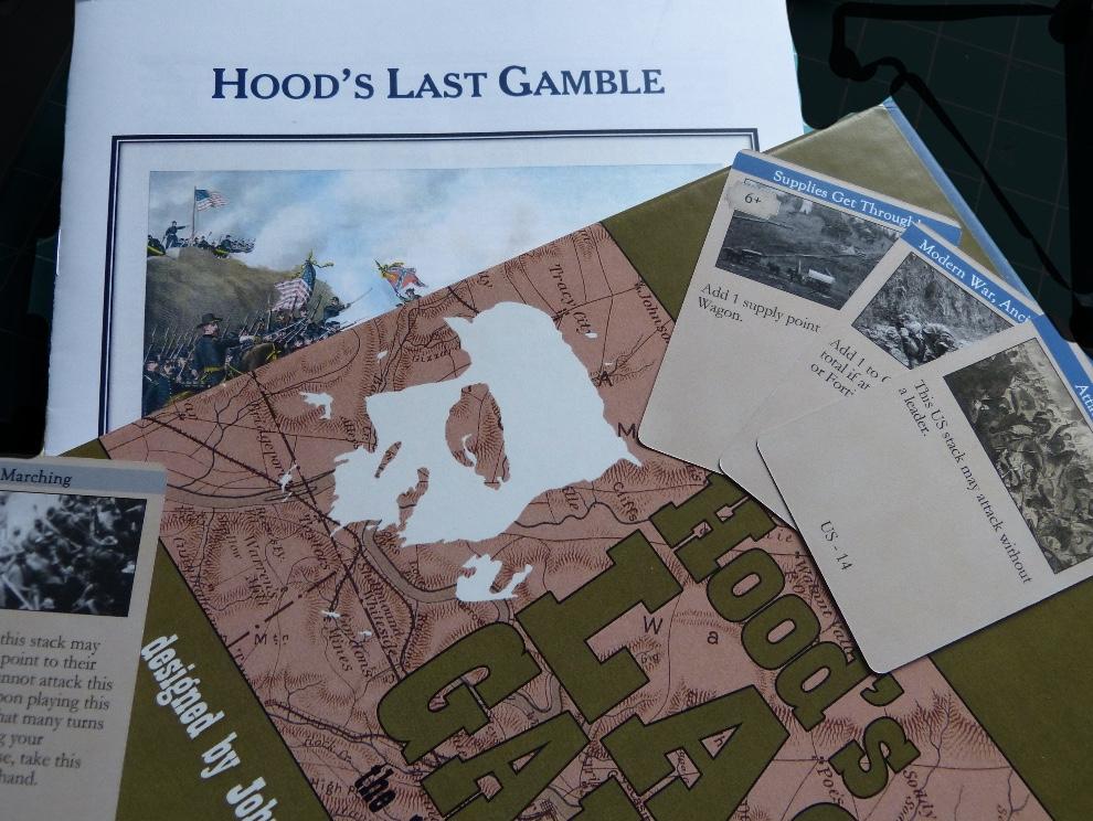 "Hollandspiele's ""Hood's Last Gamble"""