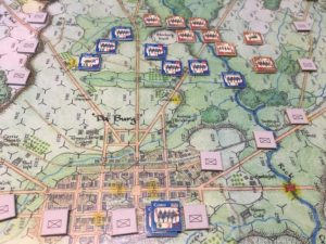 """Tiny Battles: """"The Devil's to Pay: The First Day at Gettysburg"""" – Alpha testing"""