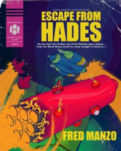 """Escape From Hades"" cover art from Hollandspiele just released"