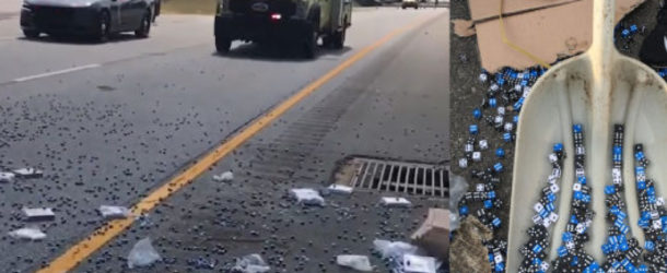 Kotaku: Truck Carrying Gaming Dice Spills Onto Highway, Rolls A Perfect 756,000