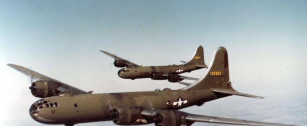 B-29 Superfortress Operation Against Germany