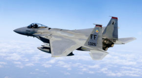 Dark Footage: F-15 Lands with One Wing
